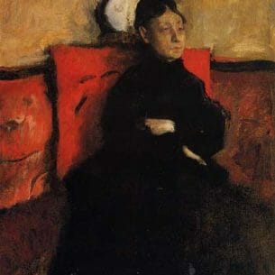 Degas, Edgar – Duchesse de Montejasi-Cicerale Oil Painting Reproductions