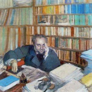 Degas, Edgar – Edmond Duranty Oil Painting Reproductions