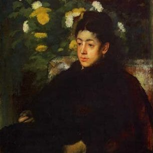 Degas, Edgar – Mademoiselle Malo Oil Painting Reproductions
