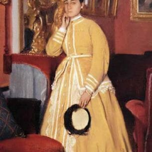 Degas, Edgar – Portrait of Madame Edmondo Morbilli, nee Therese De Gas Oil Painting Reproductions