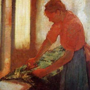 Degas, Edgar – Woman Ironing Oil Painting Reproductions