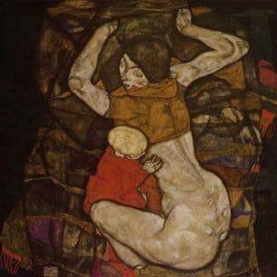 Egon Schiele – Blind Mother