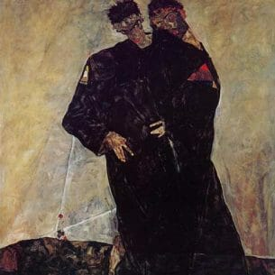 Egon Schiele – Hermits Oil Painting Reproductions