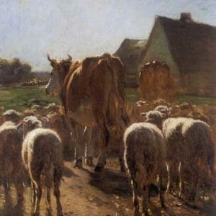 Constant Troyon – Cows and Sheep