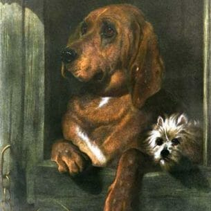 Edwin Henry Landseer – Dignity and Impudence Oil Painting Reproductions
