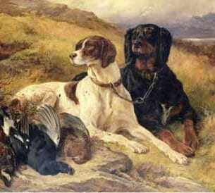 Edwin Henry Landseer – Serving the Guns Oil Painting Reproductions