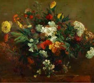 Delacroix, Eugene – Flowers