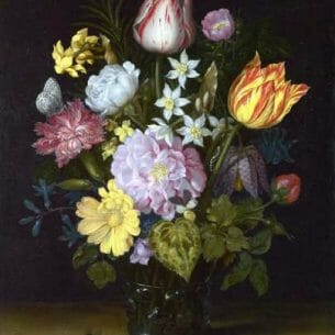 Bosschaert, Ambrosius the Elder: Flowers in a Vase Oil Painting Reproductions