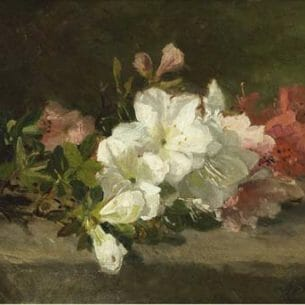 Bakhuyzen, Geraldine Jacoba Van de Sande – Blosom Oil Painting Reproductions