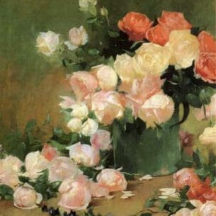 Emil Carlsen – Roses Oil Painting Reproductions