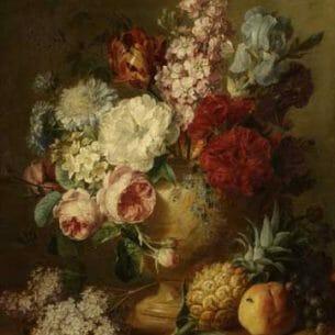 Cornelis Spaendonck – Vasse of Flowers Oil Painting Reproductions