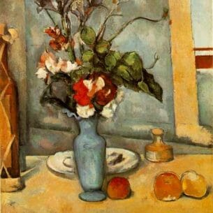 Cezanne, Paul: The Blue Vase Oil Painting Reproductions