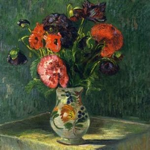 Armand Guillaumin – Still Life with Flowers Oil Painting Reproductions
