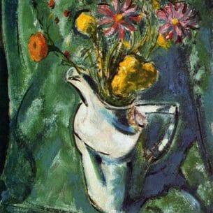 Alfred Henry Maurer – Floral Still Life