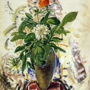 Alfred Henry Maurer – Still Life with Orange Carnation Oil Painting Reproductions