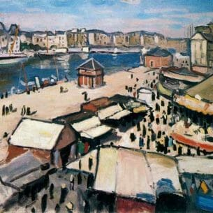 Albert Marquet – Feria en Le Havre Oil Painting Reproductions