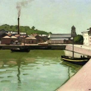 Albert Marquet – Honfleur, the Port Oil Painting Reproductions