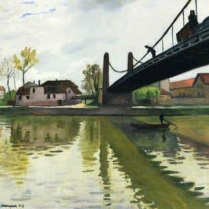 Albert Marquet – Le Pont de Conflans Oil Painting Reproductions