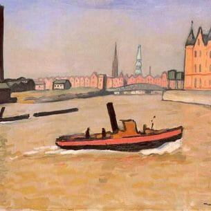 Albert Marquet – The Port of Hamburg Oil Painting Reproductions