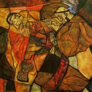 Egon Schiele – Agony Oil Painting Reproductions