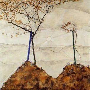 Egon Schiele – Autumn Sun I Oil Painting Reproductions