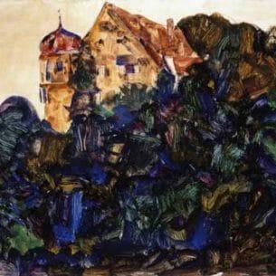 Egon Schiele – Deuring Castle, Bregenz Oil Painting Reproductions