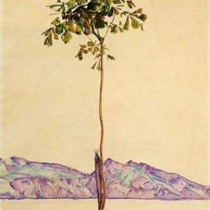 Egon Schiele – Little Tree Oil Painting Reproductions