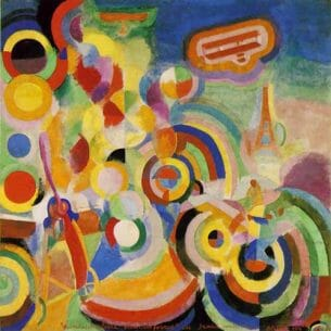 Delaunay, Robert – Homage to Bleriot Oil Painting Reproductions