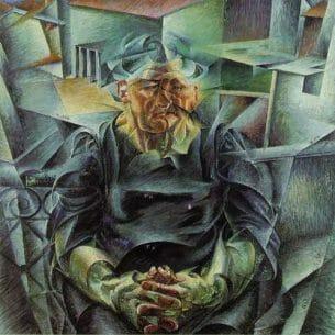 Boccioni, Umberto – Horizontal Volumes