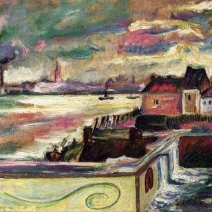 Emile-Othon Friesz(Fauvism): Antwerp Oil Painting Reproductions