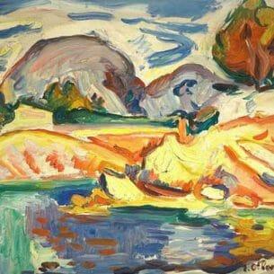 Emile-Othon Friesz(Fauvism): La Ciotat Oil Painting Reproductions