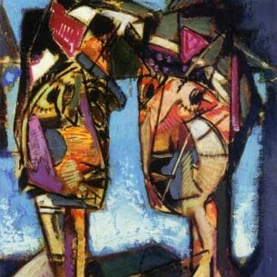 Alfred Henry Maurer – Two Heads